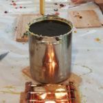 2021/03/13. Мастер-класс по созданию восковых свечей с экопасекой «ApiLibre».